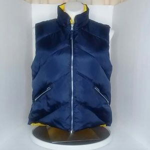 St John Bay Reversal Down Filled puffy vest  XL